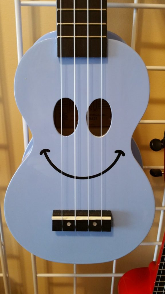 Mahalo Soprano Smiley Faces